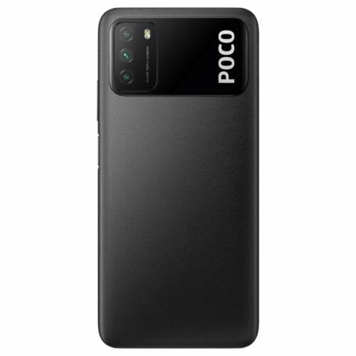 EU ECO Raktár - POCO M3 Globális verzió 48MP Triple Camera 6000mAh 6.53 inch 4GB RAM 64GB ROM Snapdragon 662 Octa Core 4G Okostelefon - Fekete