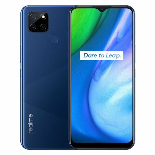 EU ECO Raktár - Realme Q2i 5G 6.5 inch Flexible Screen 5000mAh 18W Android 10 4GB RAM 128GB ROM Dimensity 720 13MP  Octa Core Okostelefon - Kék