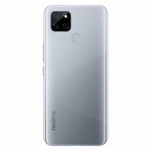 EU ECO Raktár - Realme V3 5G 6.5 inch 5000mAh 18W Gyorstöltés Android 10 6GB RAM 64GB ROM Dimensity 720 13MP Kamera Octa Core Okostelefon - Ezüst