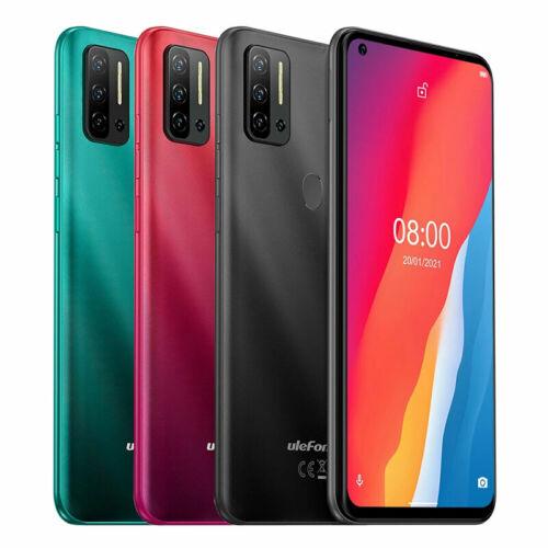 EU ECO Raktár - Ulefone Note 11P 6.55 inch 8GB RAM 128GB ROM 48MP Quad Camera Android 11 4400mAh Helio P60 Octa Core 4G Okostelefon - Piros