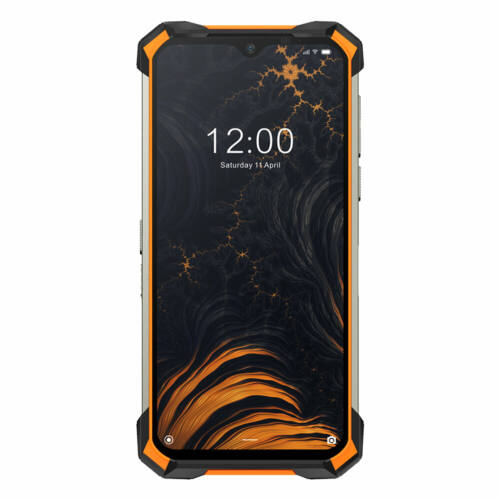 EU ECO Raktár - DOOGEE S88 Plus IP68 Vízálló 6.3 inch FHD+ NFC 10000mAh Android 10 48MP AI Triple Camera 8GB RAM 128GB ROM Helio P70 Octa Core 4G Okostelefon - Fekete