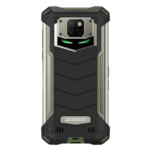 EU ECO Raktár - DOOGEE S88 Plus IP68 Vízálló 6.3 inch FHD+ NFC 10000mAh Android 10 48MP AI Triple Camera 8GB RAM 128GB ROM Helio P70 Octa Core 4G Okostelefon - Zöld
