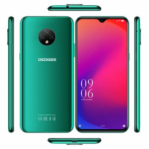 EU ECO Raktár - DOOGEE X95 Pro 6.52 inch HD+ Android 10 13MP AI Triple Camera 4GB RAM 32GB ROM Helio A20 Quad Core 4G Okostelefon - Kék
