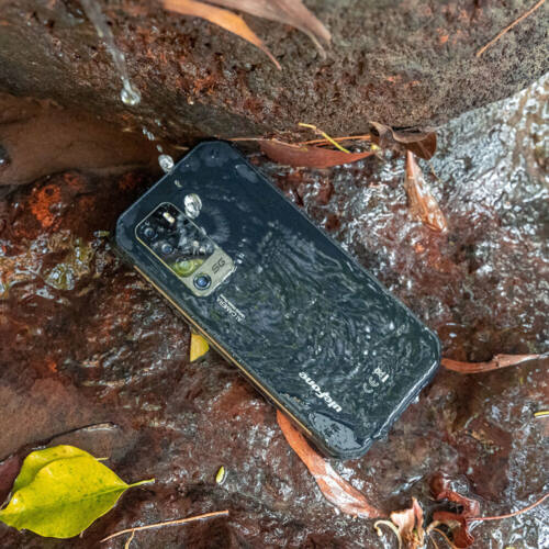 EU ECO Raktár - Ulefone Armor 11 5G IP68 IP69K Vízálló 6.1 inch 8GB 256GB 48MP Penta Camera NFC 5200mAh Wireless Charge MTK Dimensity 800 Okostelefon - Fekete