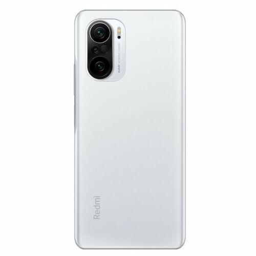 EU ECO Raktár - Xiaomi Redmi K40 Pro verzió 6.67 inch 120Hz E4 AMOLED Display 8GB RAM 256GB ROM 64MP Triple Camera 4520mAh NFC Snapdragon 888 5G Okostelefon - Fehér
