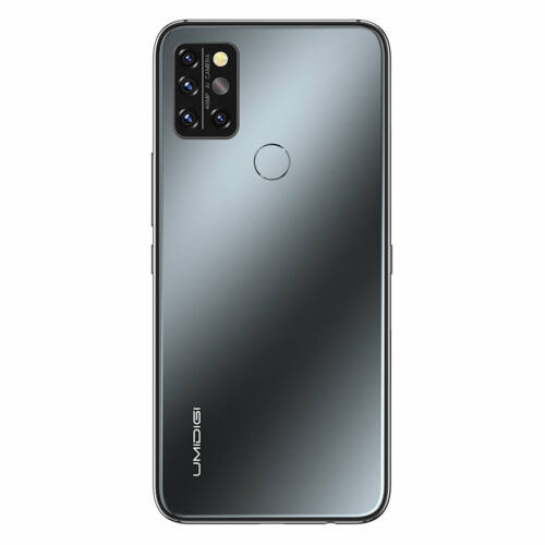 EU ECO Raktár - UMIDIGI A9 Pro 6.3 inch FHD+ Infravörös Hőmérővel Ellátott 8GB RAM 128GB ROM Helio P60 Android 11 4150mAh 48MP AI Matrix Quad Camera 4G Okostelefon - Szürke