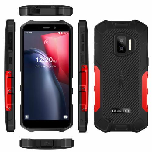 EU ECO Raktár - OUKITEL WP12 5.5 inch HD+ IP68 IP69K Vízálló NFC Android 11 4000mAh 4GB RAM 32GB ROM MT6761V 4G Okostelefon - Fekete