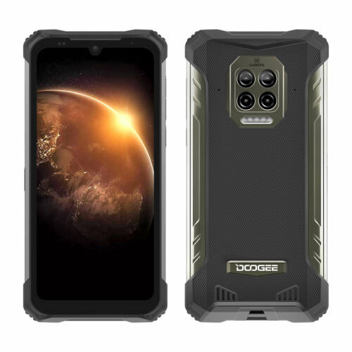 EU ECO Raktár - DOOGEE S86 6.1 inch IP68 IP69K Vízálló NFC 8500mAh 6GB RAM 128GB ROM Helio P60 16MP AI Quad Camera 4G Okostelefon - Narancs