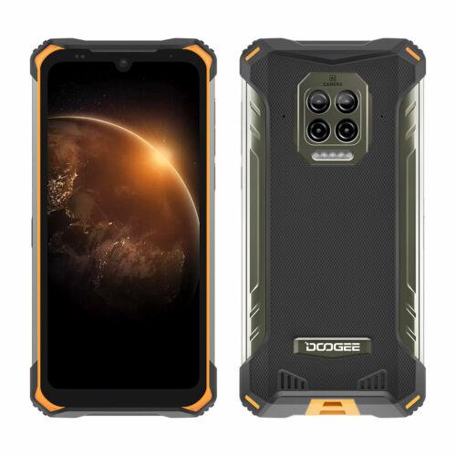 EU ECO Raktár - DOOGEE S86 6.1 inch IP68 IP69K Vízálló NFC 8500mAh 6GB RAM 128GB ROM Helio P60 16MP AI Quad Camera 4G Okostelefon - Piros