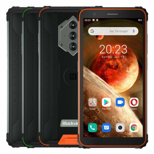EU ECO Raktár - Blackview BV6600 IP68 IP69K Vízálló 5.7 inch NFC Android 10 8580mAh 4GB RAM 64GB ROM MT6762V 4G Okostelefon - Narancs