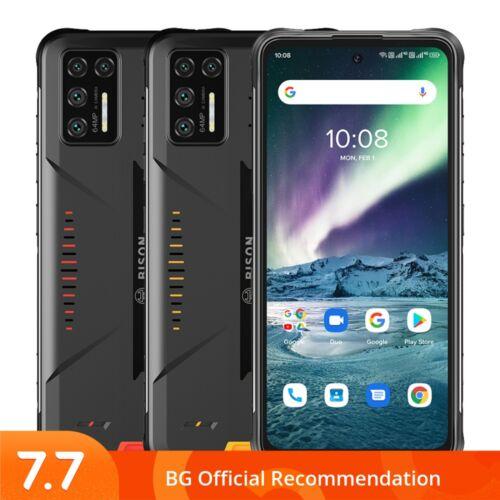 EU ECO Raktár - UMIDIGI BISON GT 6.67 inch FHD+ IP68 IP69K Vízálló NFC 8GB RAM 128GB ROM Helio G95 Android 10 5150mAh 64MP AI Matrix Quad előlapi Kamera 4G Okostelefon - Piros