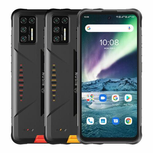 EU ECO Raktár - UMIDIGI BISON GT 6.67 inch FHD+ IP68 IP69K Vízálló NFC 8GB RAM 128GB ROM Helio G95 Android 10 5150mAh 64MP AI Matrix Quad előlapi Kamera 4G Okostelefon - Sárga