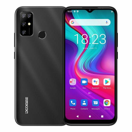 EU ECO Raktár - DOOGEE X96 Pro 6.52 inch HD+ 4GB RAM 64GB ROM 5400mAh Android 11.0 SC9863A 13MP AI Quad Camera Octa Core 4G Okostelefon - Fekete