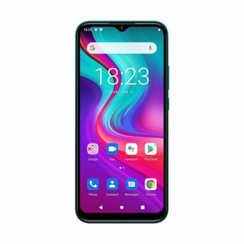 EU ECO Raktár - DOOGEE X96 Pro 6.52 inch HD+ 4GB RAM 64GB ROM 5400mAh Android 11.0 SC9863A 13MP AI Quad Camera Octa Core 4G Okostelefon - Kék