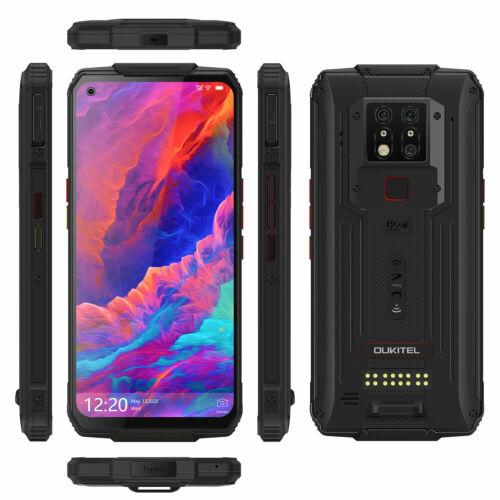 EU ECO Raktár - OUKITEL WP7 6GB RAM 128GB ROM Helio P90 6.53 inch IP68 Vízálló FHD+ 8000mAh 48MP előlapi Kamera 4G Okostelefon - Narancs