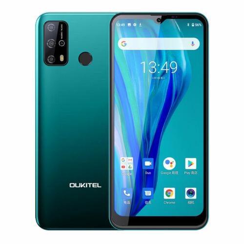 EU ECO Raktár - OUKITEL C23 Pro 5000mAh 4GB RAM 64GB ROM MT6762V 6.53 inch Android 10 13MP 4G Okostelefon - Zöld