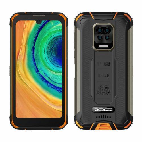 EU ECO Raktár - DOOGEE S59 IP68 Vízálló 5.71 inch HD+ 10050mAh Super Battery NFC Android 10.0 4GB 64GB Helio A25 Octa Core 4G Okostelefon - Zöld