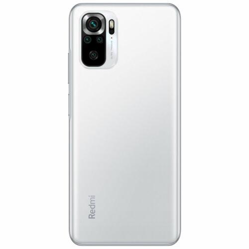 EU ECO Raktár - Xiaomi Redmi Note 10S Globális verzió 64MP Quad Camera 6.43 inch AMOLED 6GB RAM128GB ROM 5000mAh Helio G95 Octa Core 4G Okostelefon - Fehér