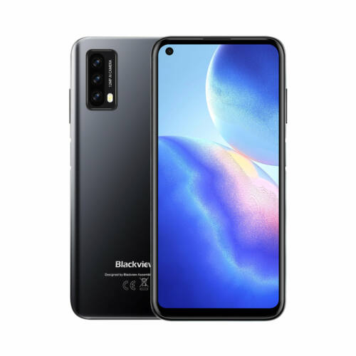 EU ECO Raktár - Blackview A90 Globális verzió NFC 6.39 inch HD+ 4280mAh Android 11 12MP 4GB 64GB Helio P60 Octa Core 4G Okostelefon - Kék