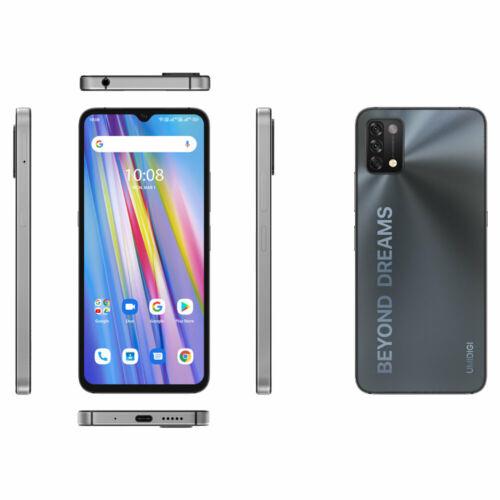 EU ECO Raktár - UMIDIGI A11 Android 11 Helio G25 5150mAh 4GB RAM 128GB ROM 16MP AI Triple Camera 6.53 HD+ Okostelefon - Kék