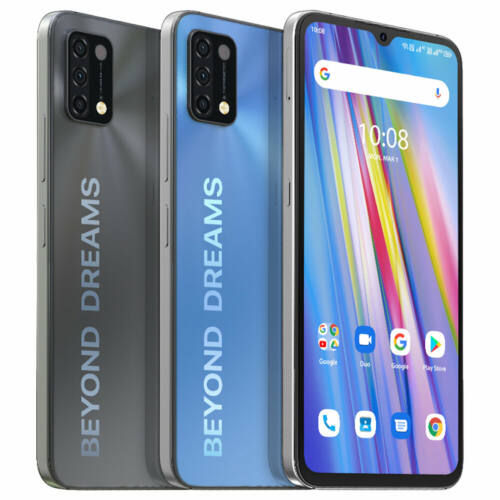 EU ECO Raktár - UMIDIGI A11 Globális verzió Android 11 Helio G25 5150mAh 3GB 64GB 16MP AI 4G Okostelefon - Kék