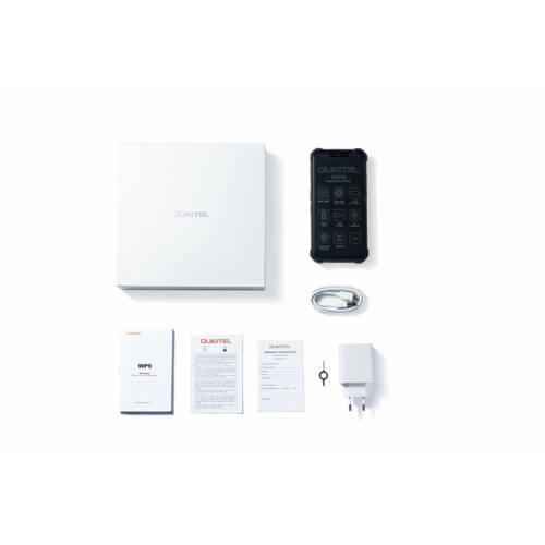 EU ECO Raktár - OUKITEL WP9 IP68 IP69K Vízálló 6GB RAM 128GB ROM NFC 8000mAh 5.86 inch 16MP 4G Okostelefon - Fekete