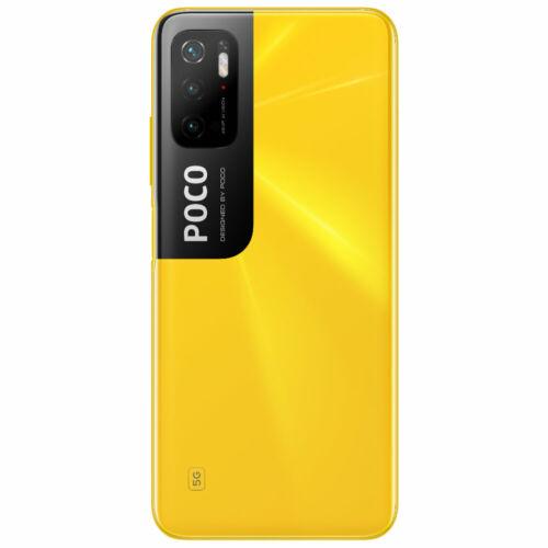EU ECO Raktár - POCO M3 Pro 5G NFC Globális verzió Dimensity 700 4GB RAM 64GB ROM 6.5 inch 90Hz FHD+ DotDisplay 5000mAh 48MP Triple Camera Octa Core 5G Okostelefon - Kék