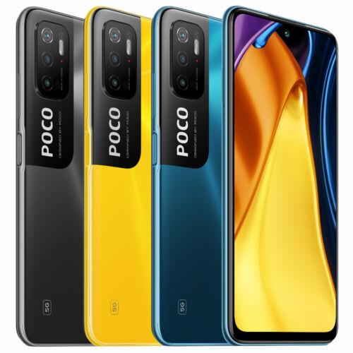 EU ECO Raktár - POCO M3 Pro 5G NFC Dimensity 700 6GB RAM 128GB ROM 6.5 inch 90Hz FHD+ DotDisplay 5000mAh 48MP Tripla Kamera Okostelefon - Kék