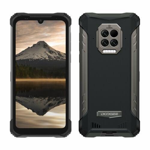 EU ECO Raktár  - DOOGEE S86 Pro 6.1 inch IP68 IP69K Vízálló NFC 8500mAh 8GB RAM 128GB ROM Helio P60 16MP AI Triple Camera 4G Okostelefon - Fekete