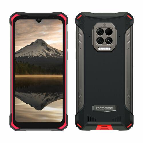 EU ECO Raktár - DOOGEE S86 Pro 6.1 inch IP68 IP69K Vízálló NFC 8500mAh 8GB RAM 128GB ROM Helio P60 16MP AI Triple Camera 4G Okostelefon - Narancs