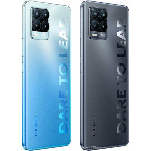 EU ECO Raktár - Realme 8 Pro 8GB RAM 128GB ROM Snapdragon 720G 6.4 inch NFC FHD+108MP Quad Camera 50W SuperDart Charge 4G Okostelefon - Kék