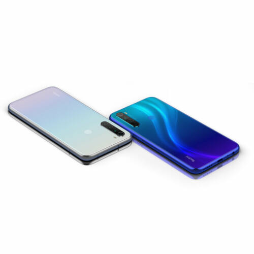EU ECO Raktár - Xiaomi Redmi Note 8 2021 6.3 inch 48MP Quad előlapi Kamera 4GB RAM 64GB ROM 4000mAh Helio G85 Octa Core 4G Okostelefon - Kék