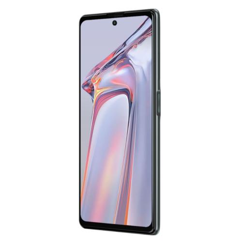 EU ECO Raktár - Blackview A100 Globális verzió NFC 6.67 inch FHD 4680mAh Android 11 12MP 6GB RAM 128GB ROM Helio P70 Octa Core 8mm Ultra-thin 18W Fast-charging 4G Okostelefon - Szürke