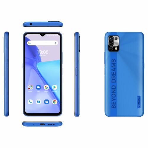 EU ECO Raktár - UMIDIGI Power 5 6.53 inch HD+ Android 11 6150mAh 16MP AI  3GB RAM 64GB ROM Helio G25 4G Okostelefon - Szürke