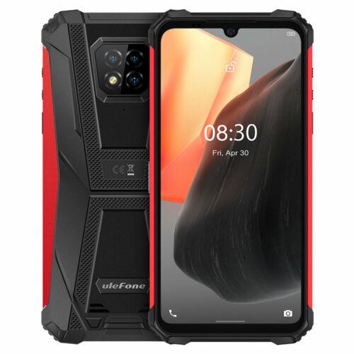 EU ECO Raktár - Ulefone Armor 8 Pro IP68 IP69K Vízálló Android 11 8GB RAM 128GB ROM 6.1 inch Tripla előlapi kamera NFC 5580mAh Helio P60 Octa Core 4G Okostelefon - Narancs