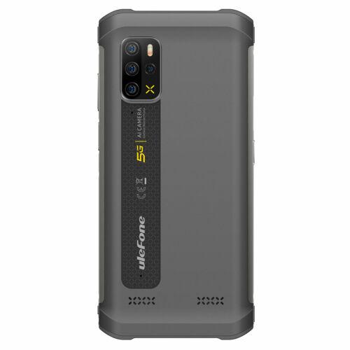 EU ECO Raktár - Ulefone Armor 12 5G MTK Dimensity 700 6.52 inch 8GB 128GB 48MP Quad Camera NFC 5180mAh IP68 Vízálló 4G Okostelefon - Fekete