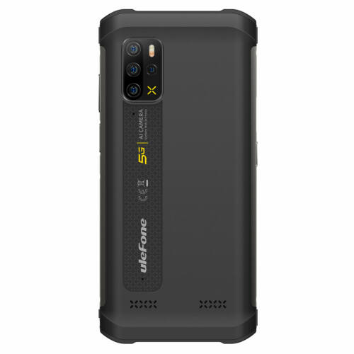 EU ECO Raktár - Ulefone Armor 12 5G MTK Dimensity 700 6.52 inch 8GB 128GB 48MP Quad Camera NFC 5180mAh IP68 Vízálló 4G Okostelefon - Narancs