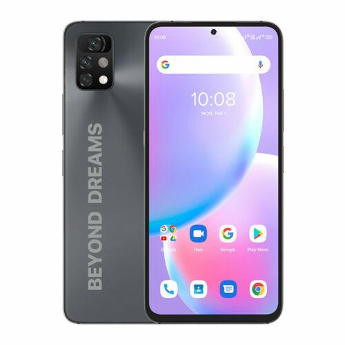 EU ECO Raktár - UMIDIGI A11 Pro Max Android 11 Helio G80 5150mAh 4GB 128GB 48MP AI Triple Camera 6.8  FHD+ 4G Okostelefon - Szürke