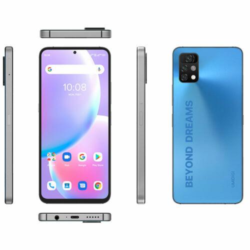 EU ECO Raktár - UMIDIGI A11 Pro Max Globális verzió Android 11 Helio G80 5150mAh 8GB 128GB 48MP AI Triple Camera 6.8 FHD+ 4G Okostelefon - Kék