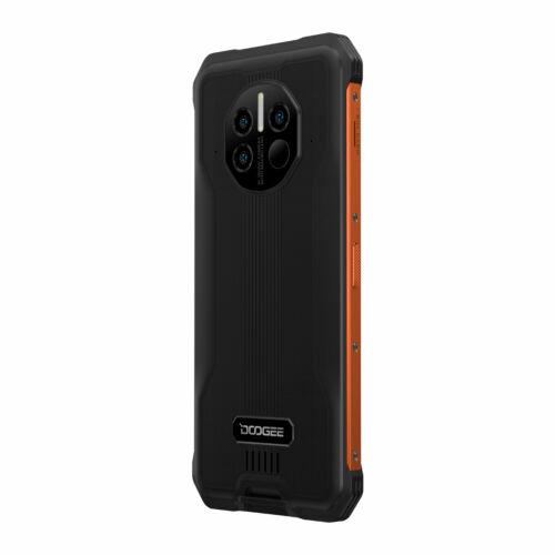 EU ECO Raktár - DOOGEE V10 Dual 5G IP68 IP69K Vízálló 8GB RAM 128GB ROM Dimensity 700 NFC Android 11 8500mAh 6.39 inch 48MP AI Triple Camera Okostelefon - Piros