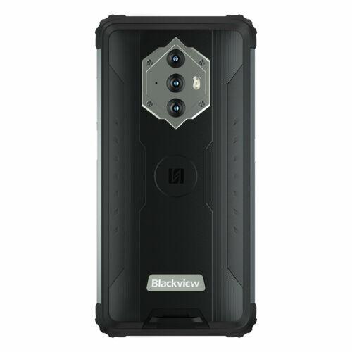 EU ECO Raktár - Blackview BV6600E IP68 IP69K Vízálló Android 11 8580mAh 4GB RAM 32GB ROM SC9863A 5.7 inch Octa Core 4G Okostelefon - Fekete