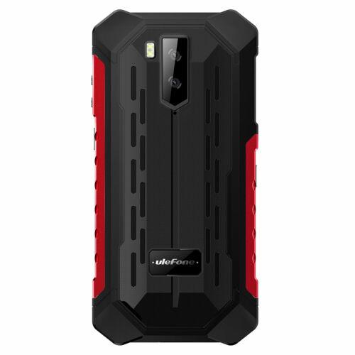 EU ECO Raktár - Ulefone Armor X9 IP68 IP69K Vízálló 5.5 inch 3GB RAM 32GB ROM Android 11 NFC 5000mAh Helio A25 Octa Core 4G Okostelefon - Fekete