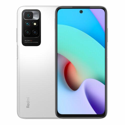 EU ECO Raktár - Xiaomi Redmi 10 6.5 inch 90Hz 50MP Quad Camera 4GB RAM 64GB ROM Helio G88 Octa core 4G Okostelefon - Fehér