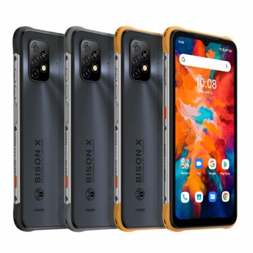 EU ECO Raktár - UMIDIGI BISON X10 IP68 P69K Vízálló NFC 6150mAh Android 11 6.53 inch Triple Camera 4GB RAM 64GB ROM Helio P60 4G Okostelefon - Szürke