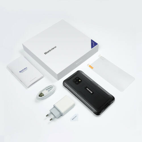 EU ECO Raktár - Blackview BV4900s Globális verzió IP68 IP69K Vízálló MIL-STD-810G 5580mAh 2GB RAM 32GB ROM 5.7 inch Android 11 4G Okostelefon - Zöld