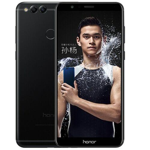EU ECO Raktár - HUAWEI Honor 7X 4G 4GB RAM 64GB ROM Dual Cameras OTG OTA Fingerprint Recognition Okostelefon - Fekete
