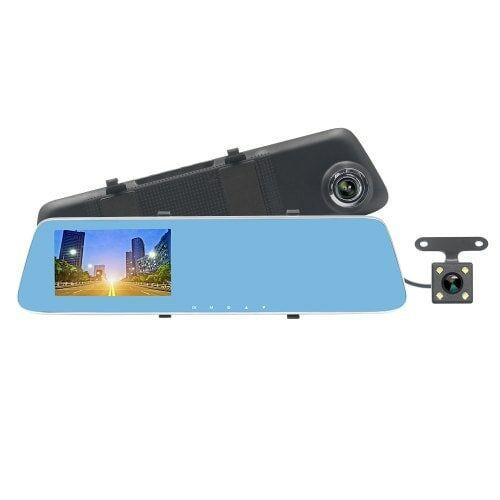 EU ECO Raktár - ZIQIAO JL - 907T HD 1080P Autós Visszapillantó Tükör DVR Kamerával