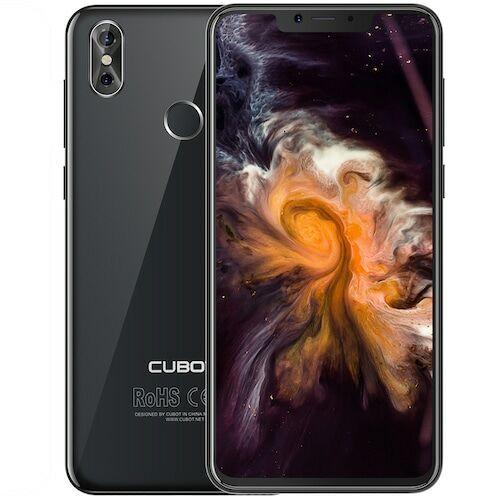 EU ECO Raktár - CUBOT P20 4G Okostelefon 4GB RAM 64GB ROM 6.18 inch 20.0MP + 2.0MP Octa Core MTK6750T - Fekete