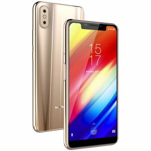 EU ECO Raktár - Homtom H10 4G okostelefon - Arany