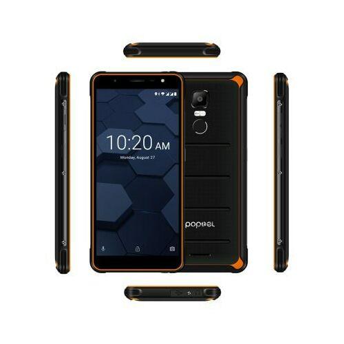 EU ECO Raktár - Poptel P10 4G okostelefon - Narancs